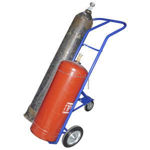 Фото Тележка для перевозки кислородного и пропанового баллонов КП-2 (КП2)